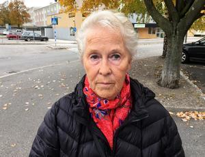 Elsa Högstedt, 78 år, pensionär, Skönsberg: