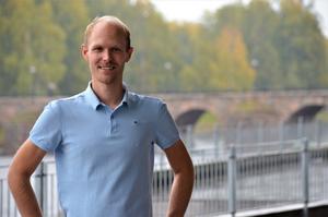 Peter Johansson, småföretagare i Ås