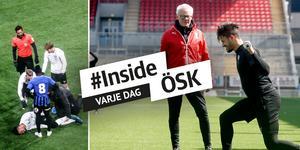 Fabio har under året stegrat sin rehabträning gradvis, men nu kan comebacken dröja längre än planerat. Foto: Elena Lövholm/Fredrik Carlsson.