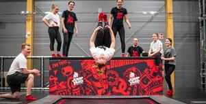 Jumpyard öppnar i Skövde i maj på Stallsikens handelsområde. Målet är att bli Sveriges näst största sport. Foto: Pressbild