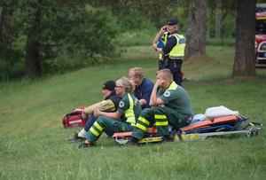 Hoppet om att kunna rädda den nödställde försvann ju längre räddningsinsatsen pågick.