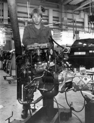 1990 gick Krister Bratt på den 2-åriga fordonstekniska linjen på PC.