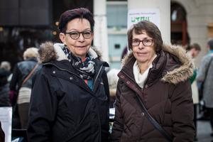 Cristina Elfström och Birgit Jönsson var på plats på Kulturmagasinet.