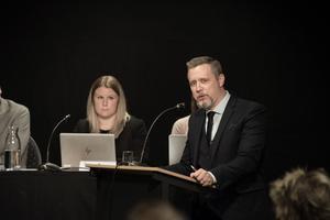 Oppositionsrådet Patrik Isestad (S).