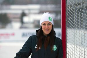 VSK-backen Malin Hedfors är mitt uppe i sin 18:e säsong i A-laget.