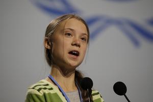 Är klimataktivisten Greta Thunberg en grön utopist?Foto: Paul White/AP