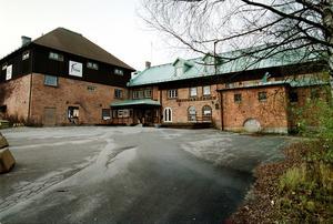Bryggargården var när det begav sig ett kulturhus vid Svartån och Folkets Bios Västerås första hem. Foto: Peter Krüger