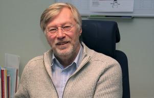 Ingvar Damm, ordförande i Husby Hembygdsförening.
