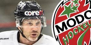Conny Strömberg spelade totalt 25 matcher i Modos A-lag. Foto: Sporten.