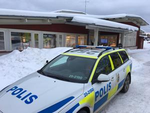 Polisen larmades till Leksands kulturhus/bibliotek på tisdagseftermiddagen.