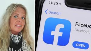 Gästkrönikören Katharina Klint skriver om livet som många lever på Facebook.