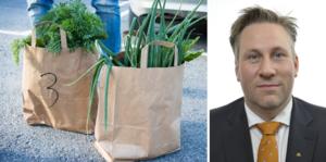 Moderaternas landsbygdspolitiske talesperson John Widegren kritiserar regeringens jordbrukspolitik.