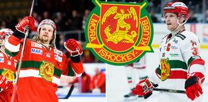 Med Viktor Amnér och Adam Masuhr i laget har Mora IK en av Hockeyallsvenskans starkaste backbesättningar. Foto: Bildbyrån