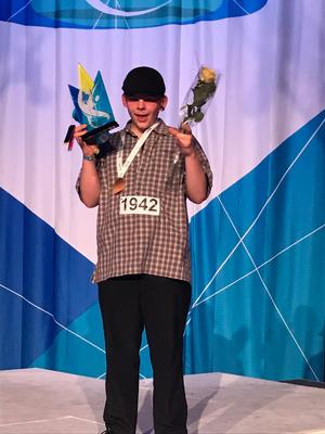 Viggo Starrin som tog SM-guld i electric boogie, ett silver i hiphop solo samt en fjärdeplats i battle-SM för juniorer.