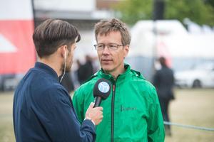 Mats Johansson, tävlingsledare för Vårruset 2018.