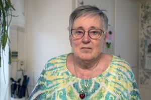 Ingrid Brockman Fahlin är hemma igen, men har fortfarande besvär med infektionen i lungan.