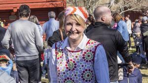 Katarina Unemar, verksamhetschef på hembygdsgården, var mycket nöjd över dagen.