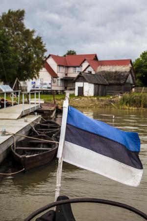 Aibolands museum i Haapsalu har flera traditionella estlandssvenska segelbåtar.