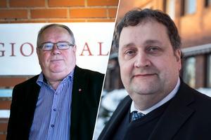 Leif Nilsson, Region Dalarnas förre ordförande och Kimmo Väkiparta, som varit platschef för SSAB i Borlänge, fanns med i lönetoppen under taxeringsåret 2017.