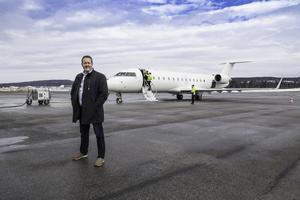 Frank Olofsson, flygplatschef Sundsvall-Timrå Airport.