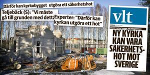 VLT:s avslöjanden om Moskvapatriarkatets kyrka i Västerås.