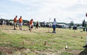 106 lag deltog under lördagens kubb.