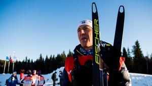Stina Nilssons tränare Ole Morten Iversen har satts i karantän. Bild: Jon Olav Nesvold/Bildbyrån.