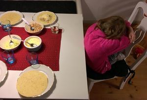 Wilma, 6 år, äter inte som andra barn. Hon äter nästan inte alls.