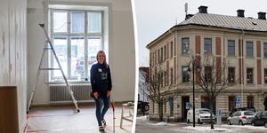 I Fonus gamla lokaler på Nytorget kommer det nya konceptcentret öppna. Cecilia Backlund är en av delägarna.