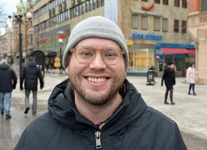 Erik Tägtström, 35 år, mentalskötare, Sundsvall: