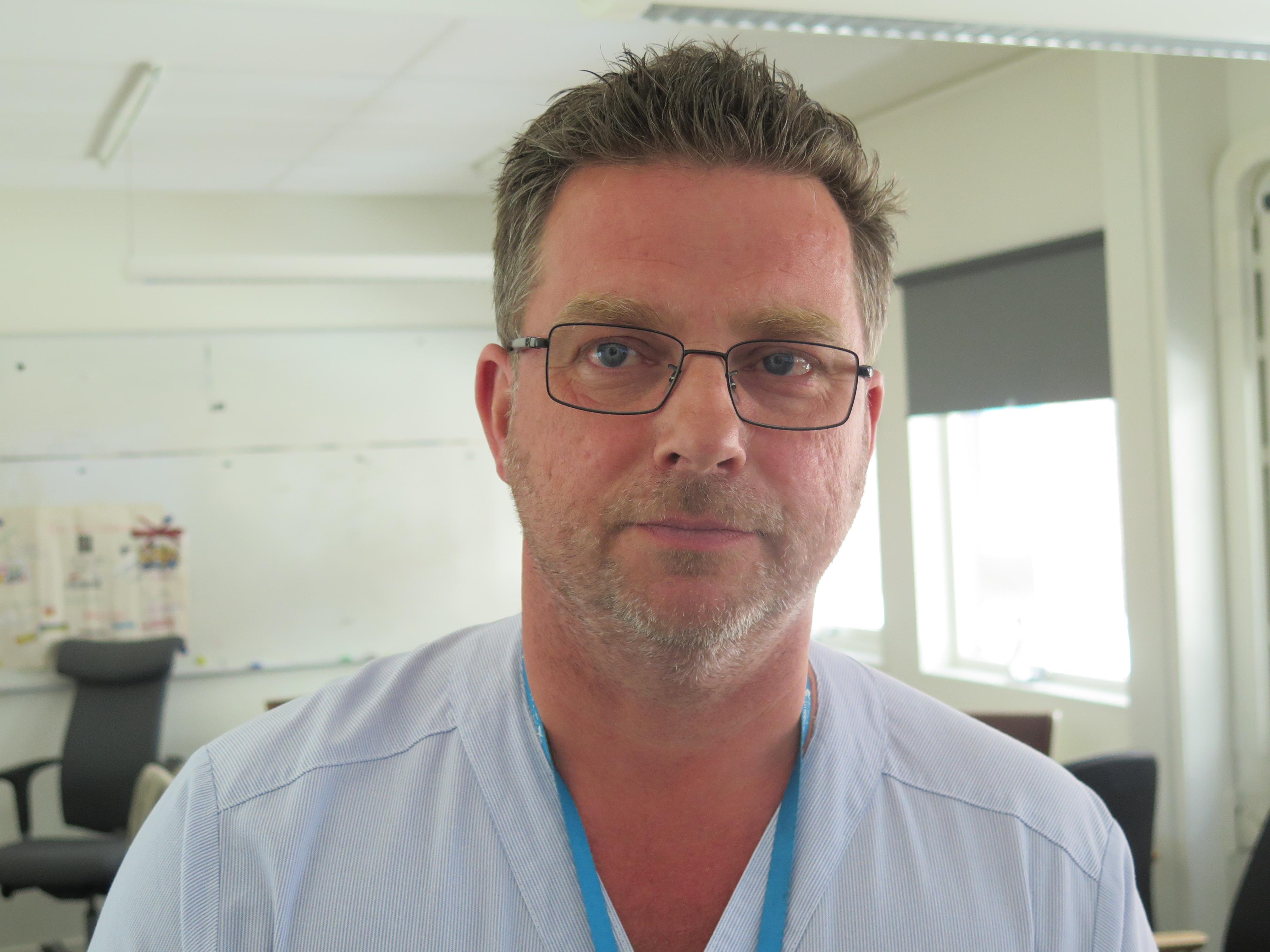 Johnny Hillgren, verksamhetschef, anestesi,  Region Gävleborg