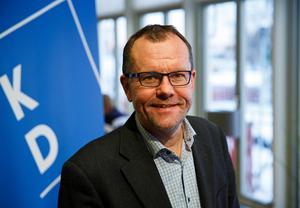 Samuel Hedström tar plats i regionpolisrådet i Bergslagen.Foto: Kristdemokraterna Dalarna