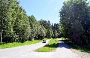 Till vänster i bild i det området som kallas Präst källa bredvid pulkabacken i Säter har bolaget långt gångna planer på att bygga bostadsrätter.