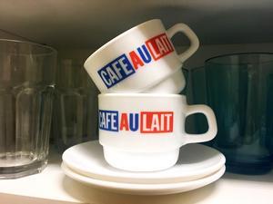 Mina nya koppar. Har jag nämnt att jag inte dricker kaffe?