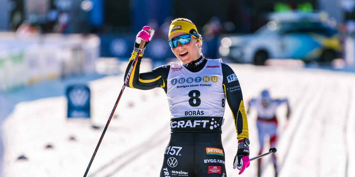 Johanna på 15:e plats i Falun – får en ny chans under söndagen