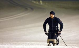 Ante Furuberg siktar mot Paralympics i Beijing 2022. I helgen tävlar han i världscupen i Östersund.