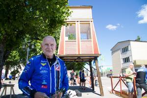 Johan Källman, ordförande i Norbergs OK.