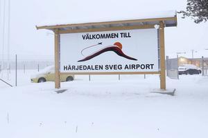 Det blir fyra år till med Avies från Härjedalens flygplats.