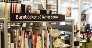 Ska det bli stopp för inköp av böcker på alla elevers modersmål på Sölvesborgs skolbibliotek? Slutgiltigt beslut fattas i mitten av nästa månad. Bild: Christine Olsson/TT