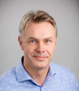 Thord Tärnbrant, distriktschef på Peab Bostad. Foto: Erik Nygren
