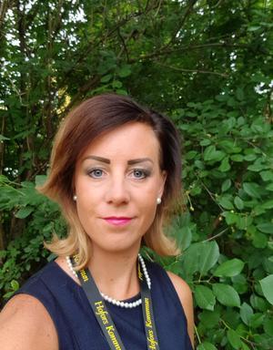 Pernilla Neuman, chef för individ- och familjeomsorgen i kommunen. Foto: arkivbild