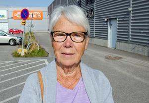 Anki Sköld, 71, pensionär, Sundsvall.