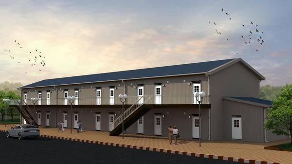 Så här kan studentbostäderna i Ulvkälla se ut när de är klara.