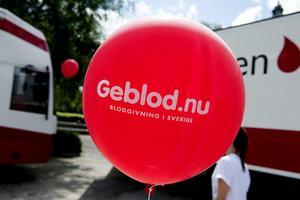 Just nu råder blodbrist på flera håll i landet, vilket uppmärksammats i media. Foto: TT