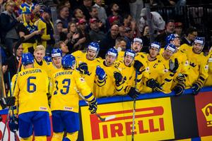 Sverige fick jubla flera gånger om mot USA. Foto: Ludvig Thunman / Bildbyrån