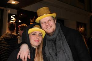 I guldhattar: Josefin Sunnanlid och Robert Lindholm. Foto: Py Tenor