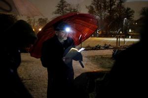 Förre NA-journalisten Lars Westberg läser Torsten Ehrenmarks kåseri