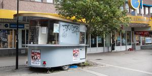 Matvagnen Homayons kök mellan Fyren och Guldsmeden.