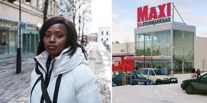 För en vecka sedan utsattes Chantal  Binua för en rasistattack på Ica Maxi i Härnösand.