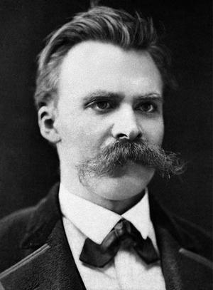 Friedrich Nietzsche 1875. Foto: Friedrich Hartmann